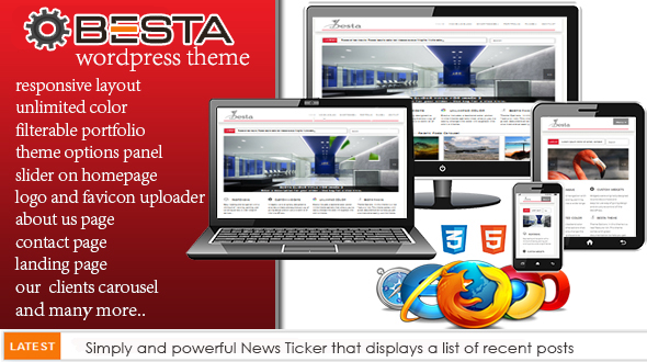 Besta Responsive WordPress Theme