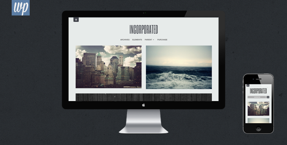 Incorporated – WordPress Theme