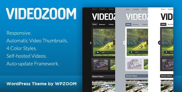 Videozoom – WordPress Video Theme