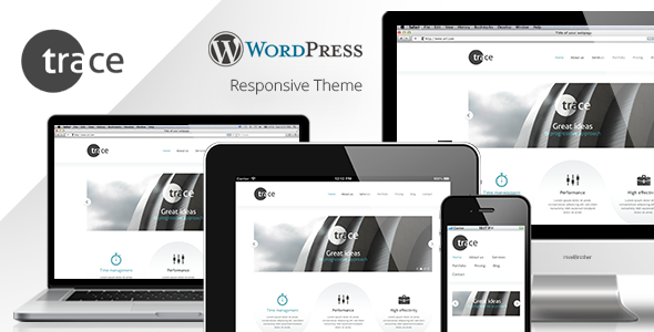 trace – WordPress Responsive Theme