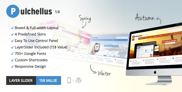 Pulchellus – Responsive 4 Seasons Theme