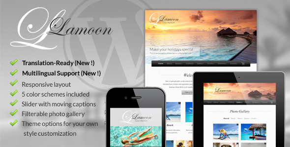 Lamoon – Responsive WordPress Theme