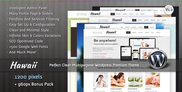 Hawaii – Multipurpose WordPress Premium Theme