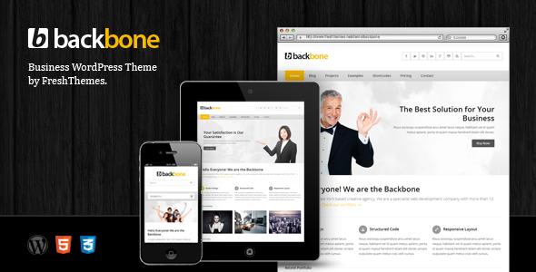 Backbone – Responsive Business WordPress Theme