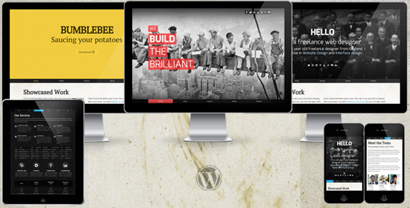 Folio WP: Single Portfolio WordPress Theme + Blog