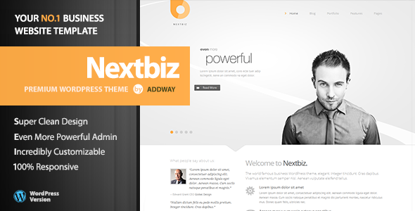 Nextbiz – Responsive Multi-Purpose WordPress Theme