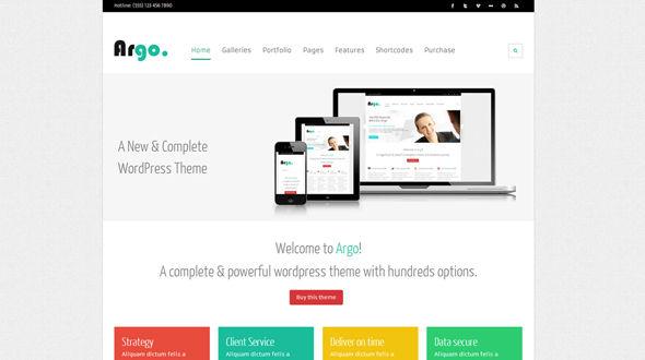 Argo – A Complete e-Shop WP Theme