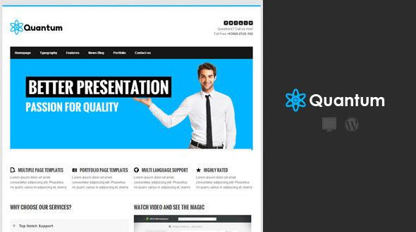 Quantum Premium WordPress Theme