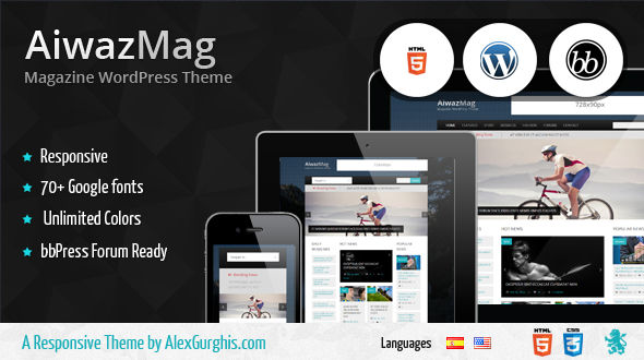 AiwazMag – WordPress Responsive Magazine