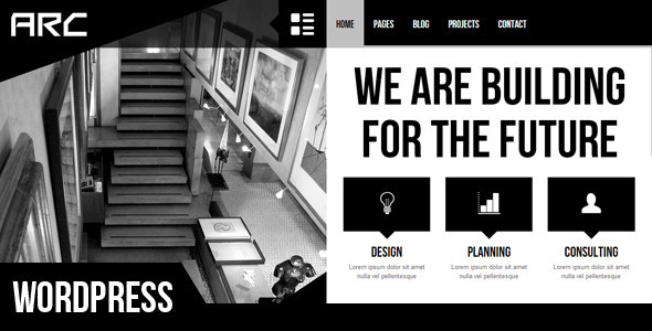 Arc – Responsive Architect Business WP Theme
