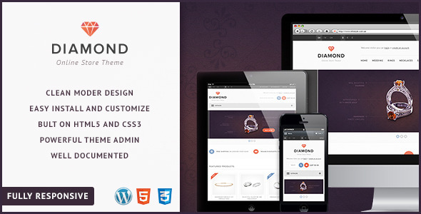 Diamond — Responsive WooCommerce Theme