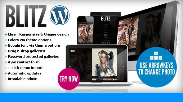 Blitz WordPress Theme