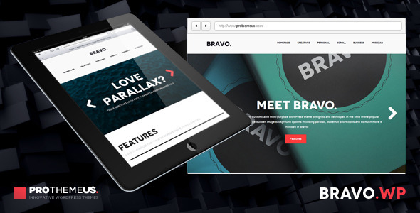 Bravo | A Multi-Purpose One-Page WordPress Theme