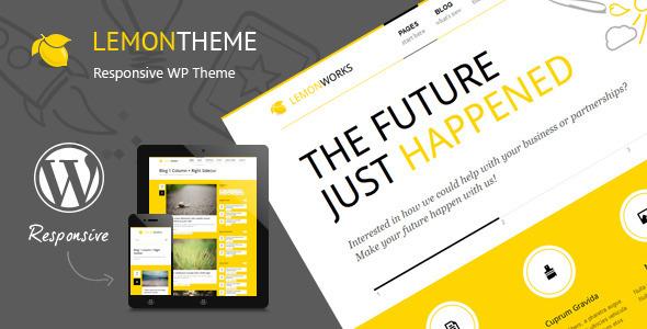 Lemon – Responsive Portfolio WordPress Theme