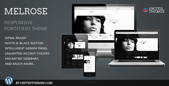 Melrose Responsive Portfolio WordPress Theme