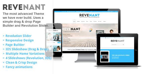 Revenant – Responsive Business WordPress Theme