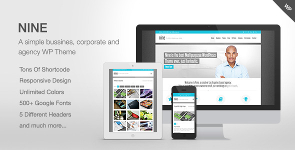 Nine – Responsive Multi-Purpose Theme