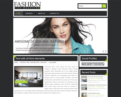 Fashion The Magazine