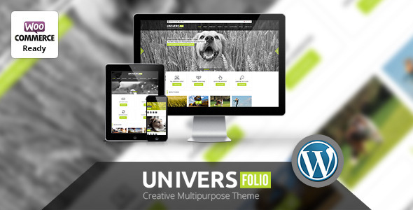 Universfolio – Multipurpose WordPress Theme