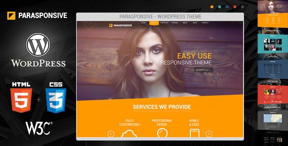 Parasponsive – WordPress, Responsive, Parallax
