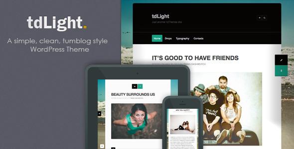 tdLight – WordPress Blog Theme