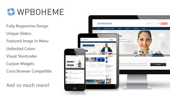 Wp Boheme – Corporate & Responsive Theme