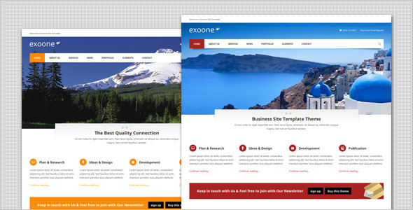 Exoone – Corporate Business WordPress Theme