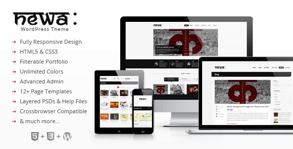 Newa: Responsive WordPress Theme