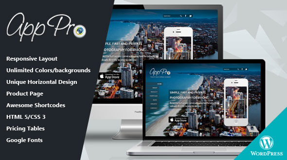 App Pro – WordPress Theme for App & Software Developers