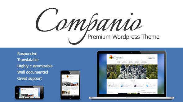 Companio – Responsive Highly Customizable Theme