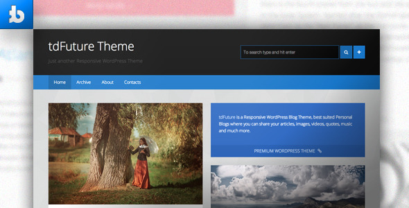 tdFuture – WordPress Theme
