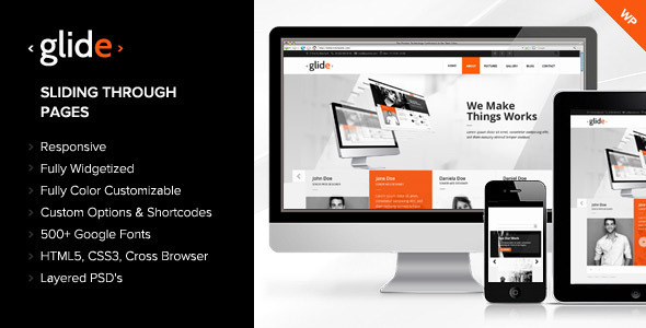 Glide | WordPress Theme