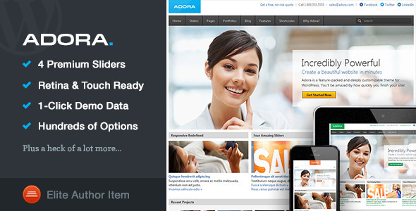 Adora | Responsive Multi-Purpose Theme
