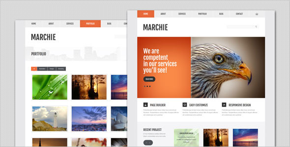 Marchie – Corporate Business WordPress Theme