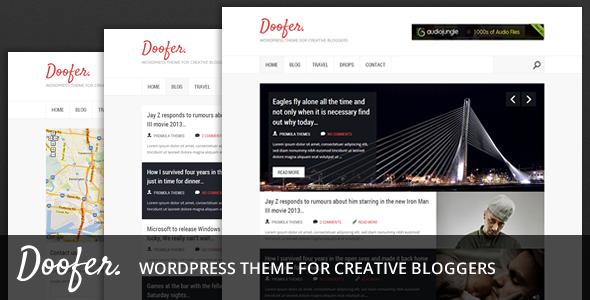 Doofer Blogging Theme