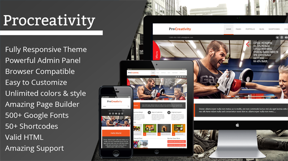 Procreativity – Responsive Multi-Purpose Theme
