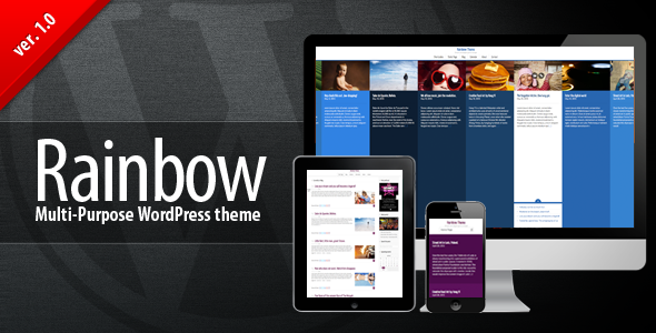 Rainbow WP – Multi-purpose Premium Theme