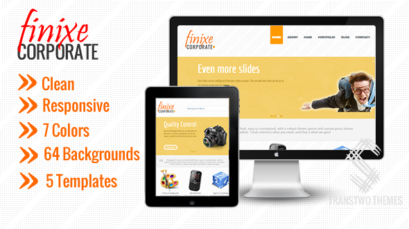 Finixe Corporate – Modern & Responsive WP Theme for Business