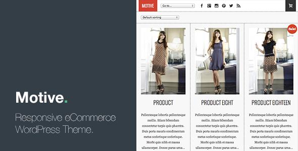 Motive – Responsive eCommerce WordPress Theme