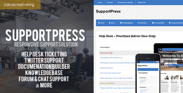 SupportPress : Responsive Support Solution