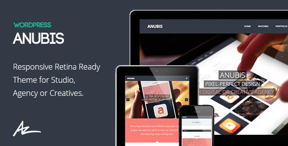 Anubis – Responsive Portfolio & Blog Theme