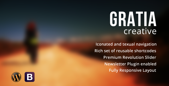 Gratia – WordPress Simple Creative Theme