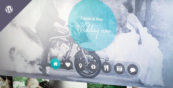 Wedding vow – Responsive WordPress Theme