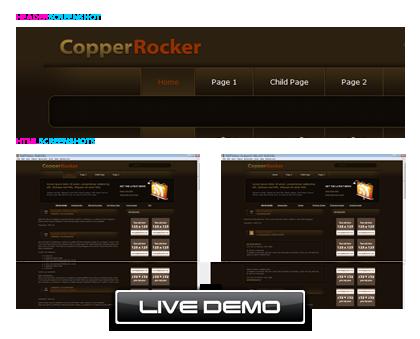 Copper Rocker