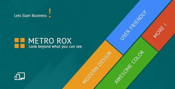 Metro Rox HTML5 WordPress Multipurpose Theme