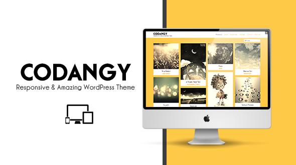 CODANGY – Responsive Portfolio/Blog WP Theme