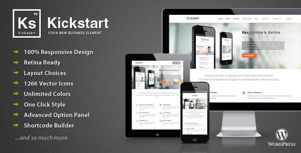 Kickstart – Retina Responsive Multi-Purpose Theme