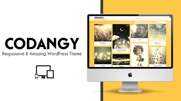 CODANGY – Responsive Portfolio & Blog Theme – WordPress