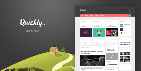 Quickly – Handcrafted WordPress Theme