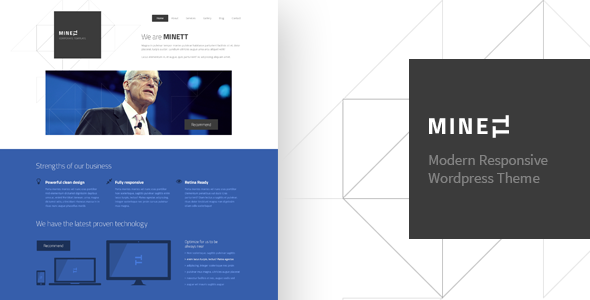 MINETT – WordPress Responsive Theme